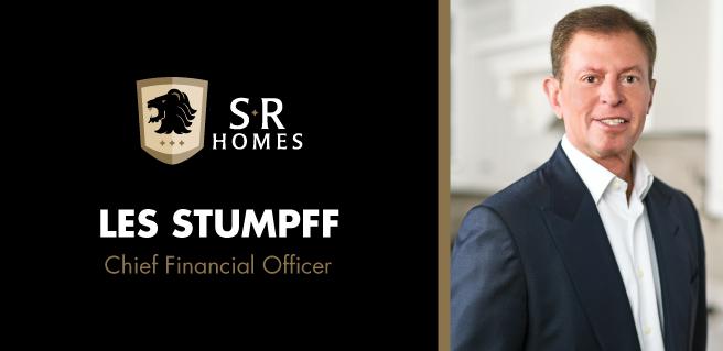 SR Homes Les Stumpff CFO