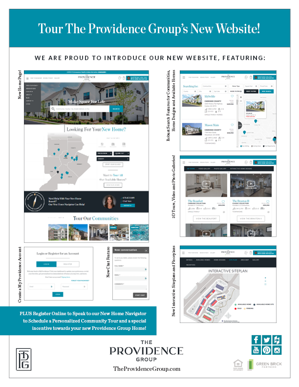 The Providence Group of Georgia Launches New Website
